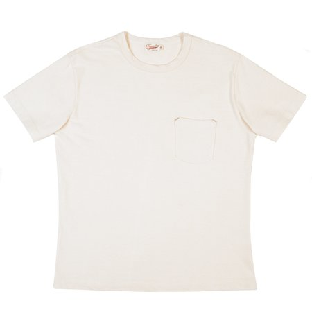 Freenote Cloth Shifter Short Sleeve Tee - Natural