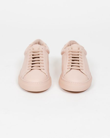 Zespa ZSP4 Leather Sneaker - Nude