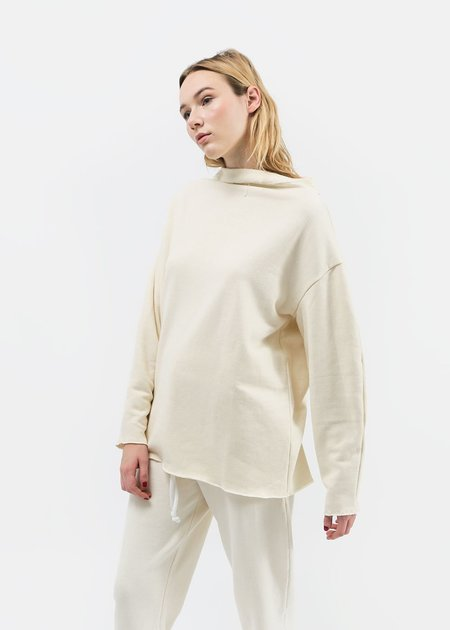 Open Air Museum Textured Sweater Top