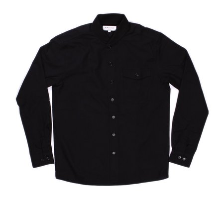 YMC Oxford Delinquents Shirt - Black