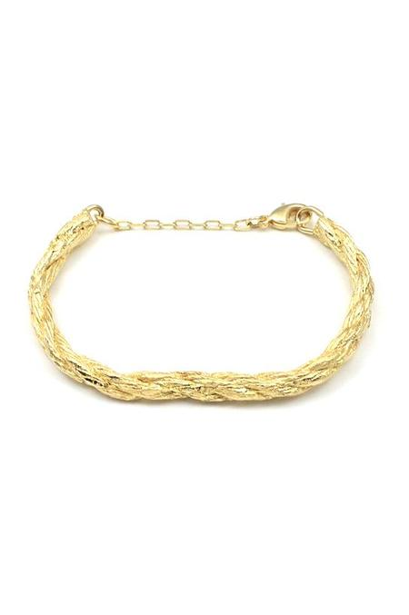 Merewif Andi Bracelet - Gold Plated Brass
