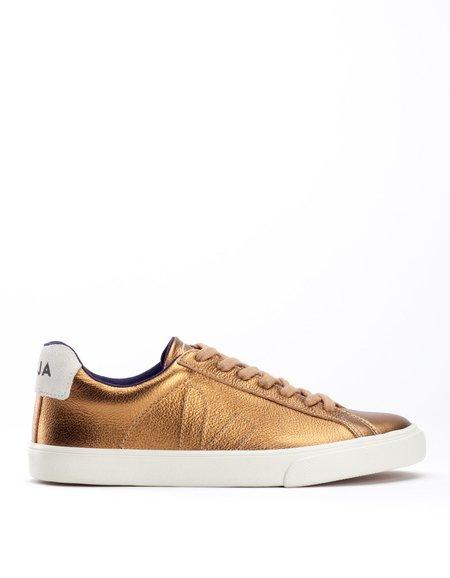 Veja Esplar Low Leather Sneaker Ambre