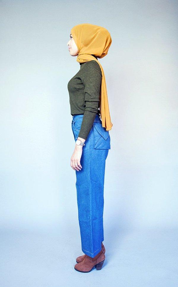 Samantha Pleet Post Jeans Ultramarine