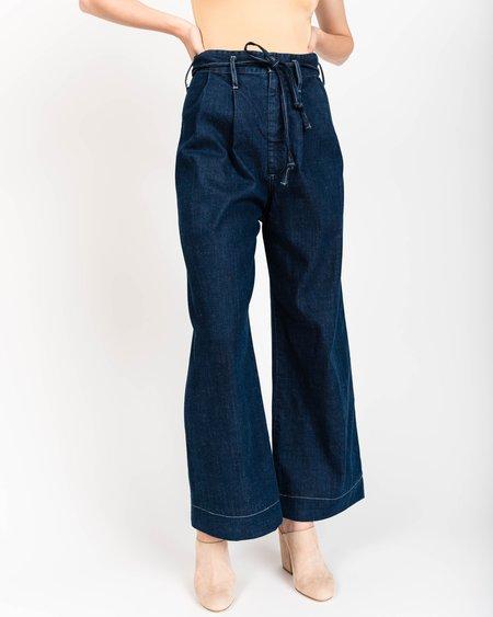 Micaela Greg Wide Leg Belted Pants