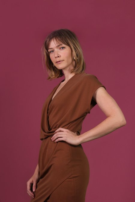 Eve Gravel Soul City Dress - Caramel