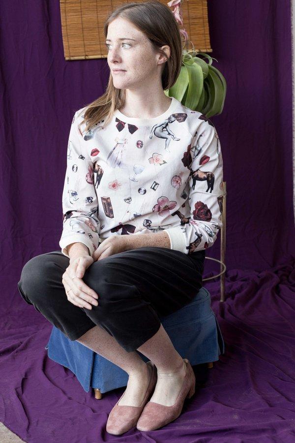 Samantha Pleet Cuddle Shirt - Collage