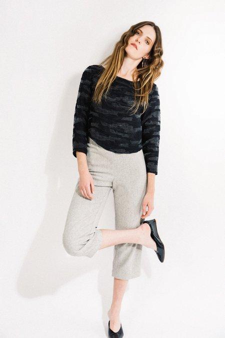 Beth Deck Pants - Grey Wool
