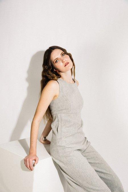 Beth Loft Jumpsuit - Grey Wool