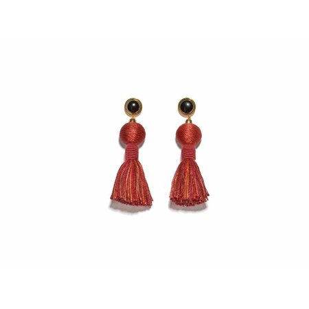 Lizzie Fortunato Modern Craft Earrings in Cinnamon