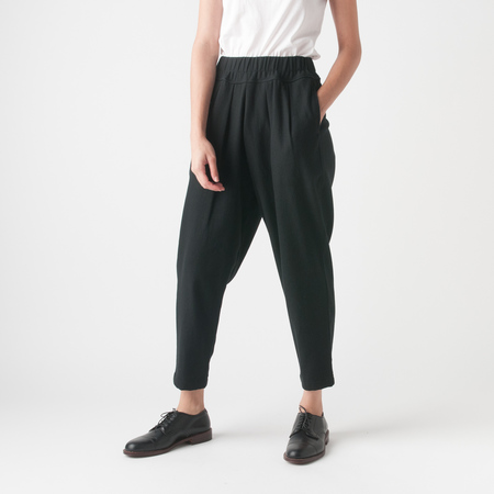 Black Crane Carpenter Pant in Black