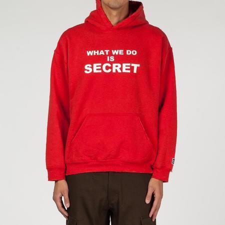 Liberaiders Secret Pullover Hoody - Red