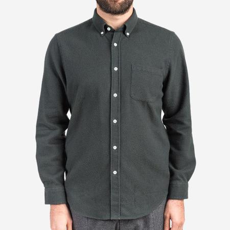 Portuguese Flannel Suave Flannel Shirt - Green