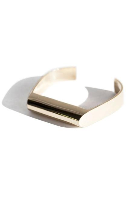 Quarry Mierle Cuff - Brass