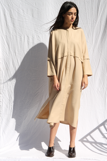 Priory Altto Dress - Oat