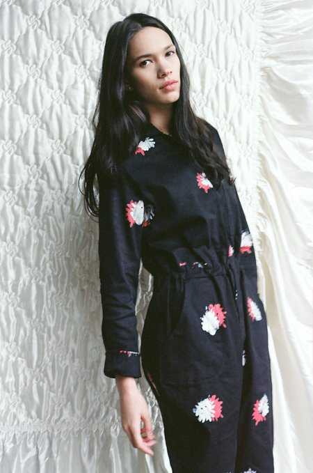 Osei-Duro Flight Suit in Flowers