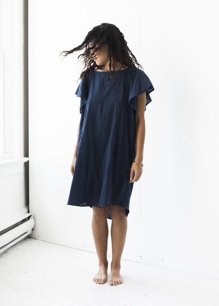 Uzi NYC Dee Dress in Navy