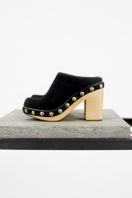 Rachel Comey Powers Clog - Black Suede