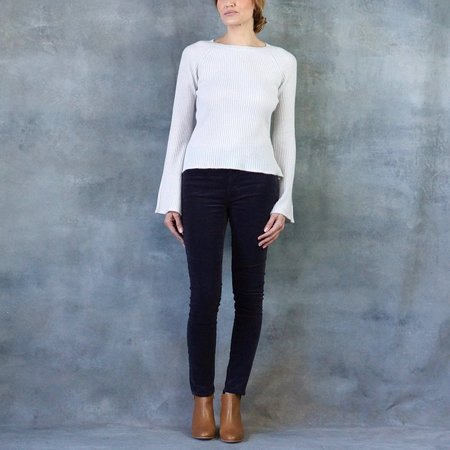 Line The Label Martine Bell Sleeve Cashmere Sweater