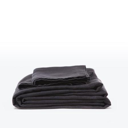 Morrow Classic Sheet Set Heirloom French Linen - Midnight
