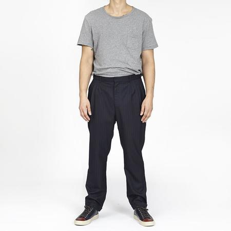 S.K. Manor Hill Louis Pant - Navy / White Pinstripe