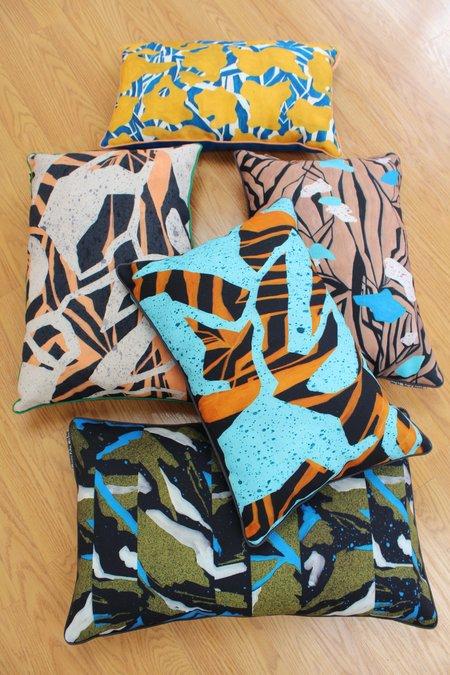Marie Colin Madan / Beklina Pillow Collaboration Rectangles