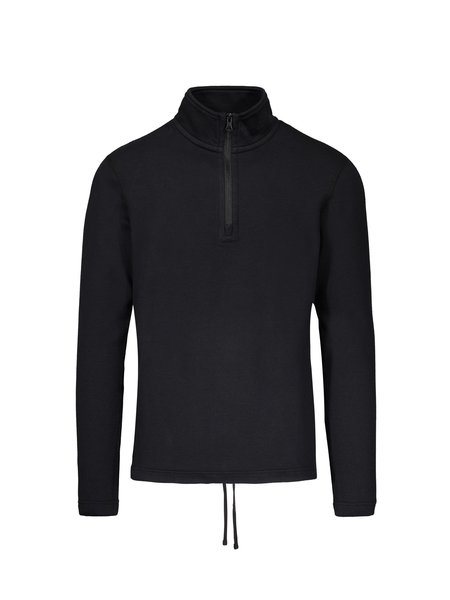 Reigning Champ Mesh Double Knit Half Zip