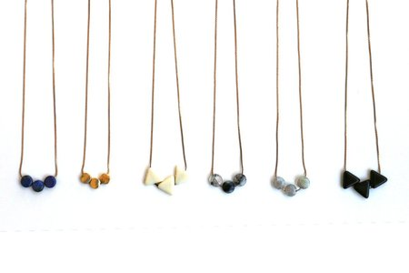 Isobell Designs Three Dot Necklace