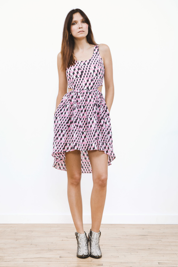 Line & Dot Griffith Cut Out Dress