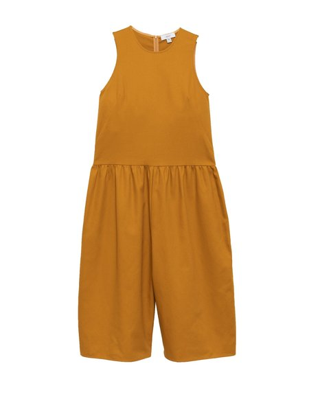 In God We Trust Louise Jumpsuit - Yellow Twill