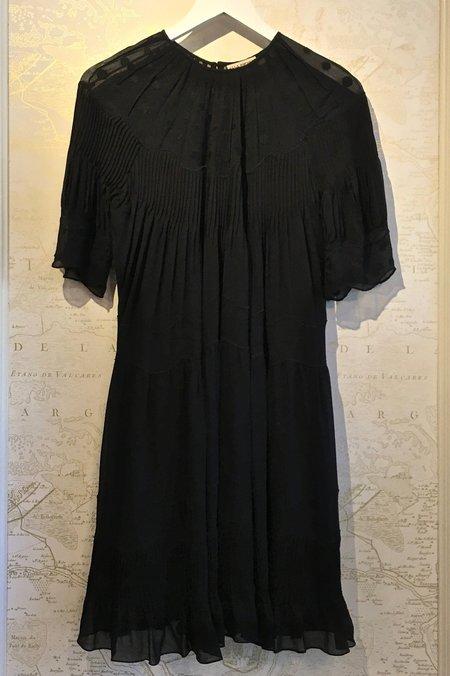 Ulla Johnson Silk Georgette Evangeline Dress