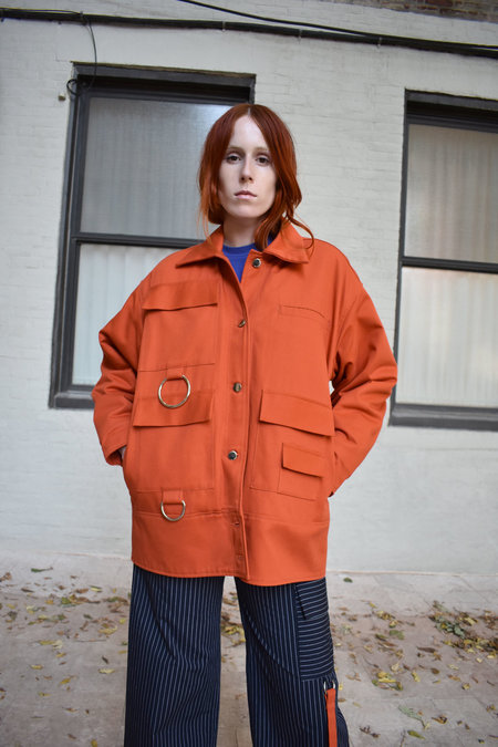 _SCAPES NY Commuter Jacket in Orange