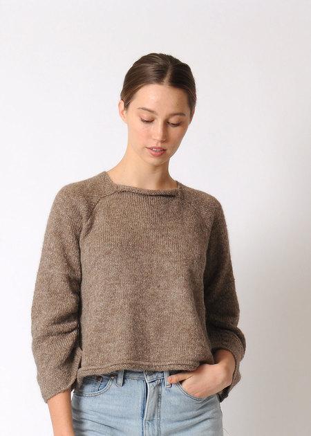 Wol Hide Gathered Raglan Sweater