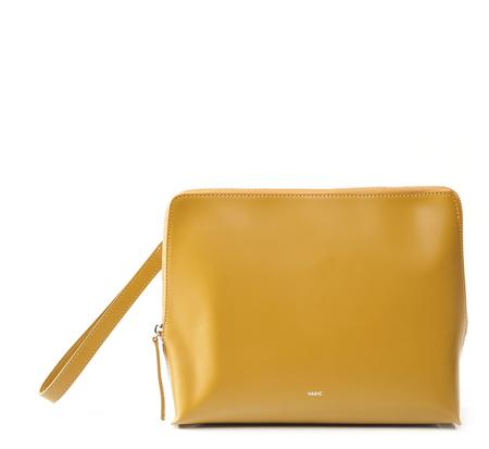Vasic Ocher Steady Clutch Bag