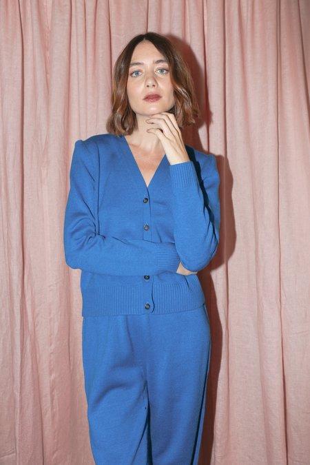 A Détacher Catriona Cardigan in Blue
