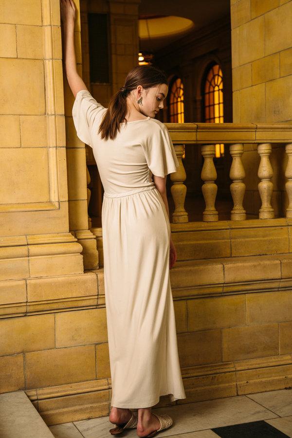 "URBANOVITCH Drawstring ""Danja"" Dress"