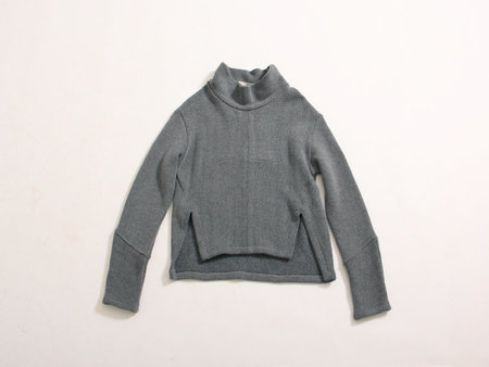 Eve Gravel Ono Turtleneck Sweater - Smoke