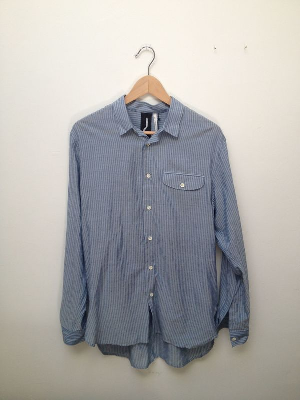 Men's Baggy Button-Down