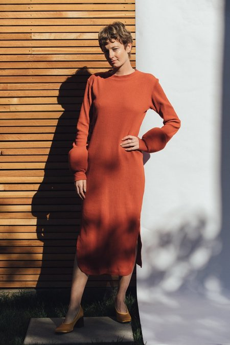 Delfina Balda Cani Knit Dress - Orange
