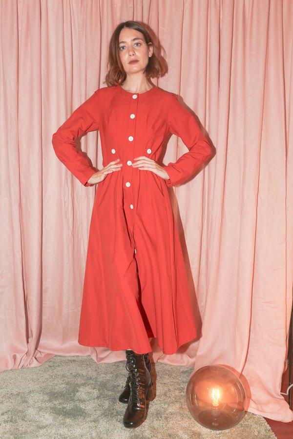 Nikki Chasin Baroness Dress in Persimmon