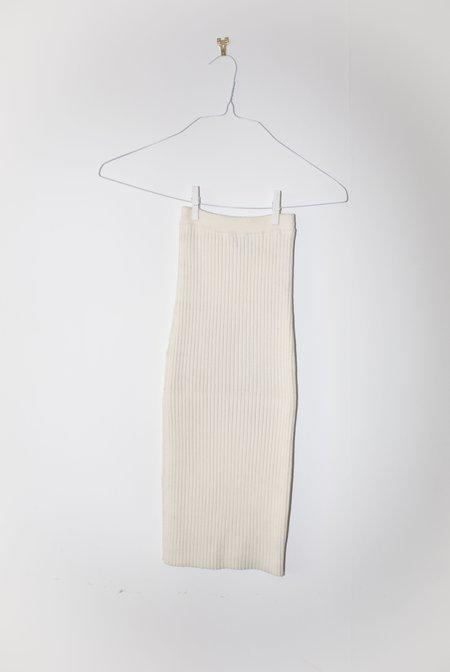giu giu NONNA Tube Skirt - Ivory