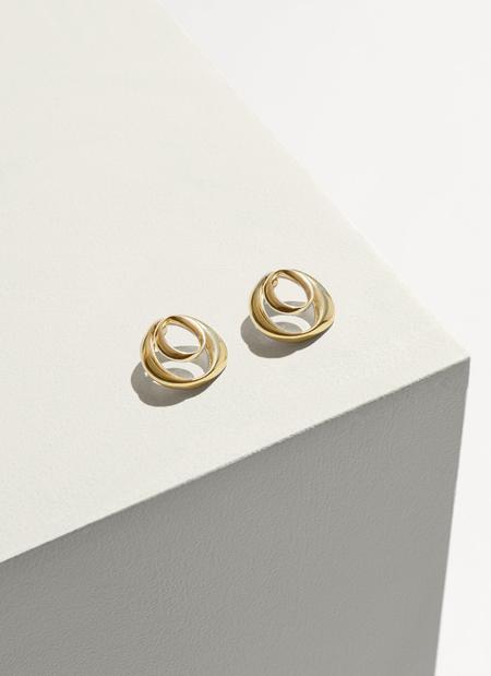Pamela Love Kendrick Earrings - BRASS
