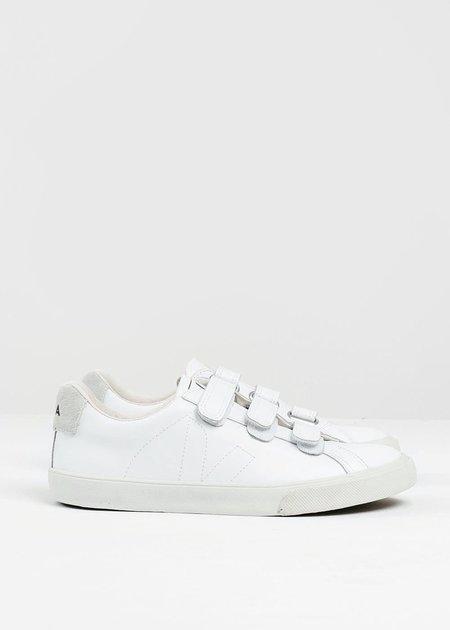 Unisex Veja White 3 Lock Esplar Sneaker