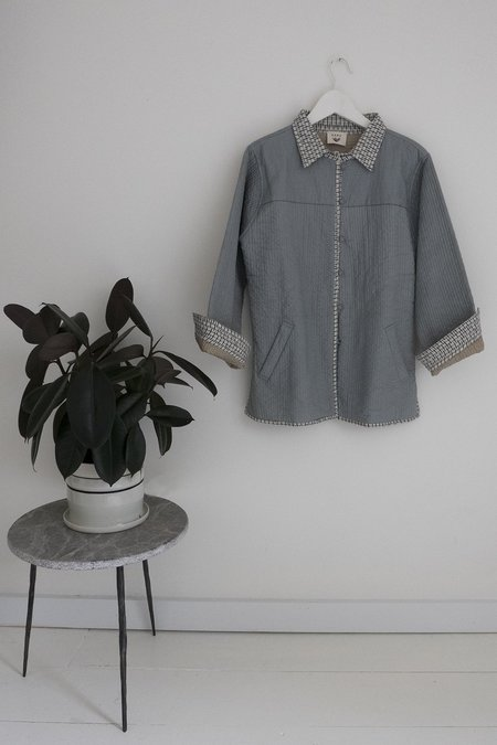 Karu Sky/Stone Quilted Jacket