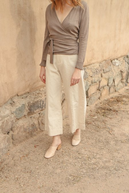 Ali Golden Ballet Sweater in Taupe