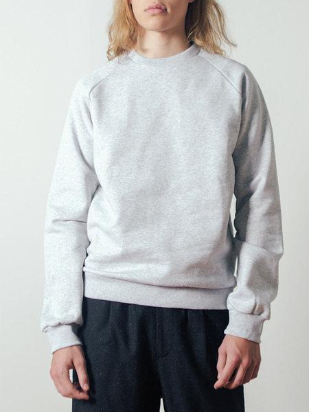 The White Briefs Sal Sweatshirt in Grey