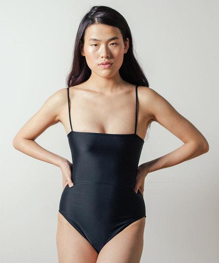 NU Swim Straight One Piece in Black