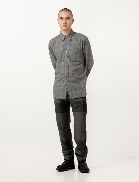 Engineered Garments Andover Pant - Grey/Black Wool Plaid