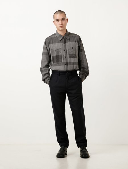 Engineered Garments Andover Pant - Navy Worsted Wool