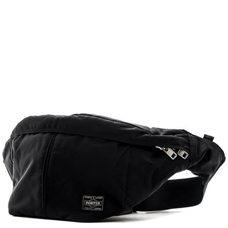 Porter Tanker Waist Bag - Black