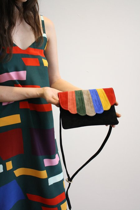CAB Collection Shell Fanny Pack - Rainbow